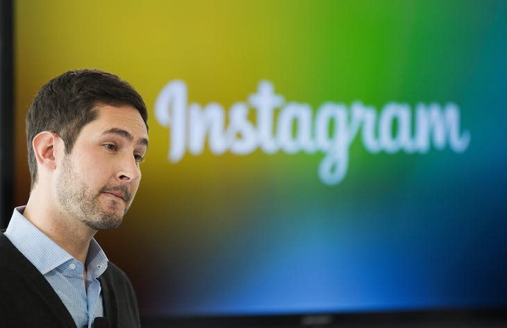 Instagram Chief Executive Officer and co-founder Kevin Systrom attends the launch of a new service named Instagram Direct in New York December 12, 2013. Photo-sharing service Instagram unveiled a new feature on Thursday to let people send images and messages privately, as the Facebook-owned company seeks to bolster its appeal among younger consumers who are increasingly using mobile messaging applications. The new Instagram Direct feature allows users to send a photo or video to a single person or up to 15 people, and have a real-time text conversations. REUTERS/Lucas Jackson (UNITED STATES - Tags: SCIENCE TECHNOLOGY BUSINESS LOGO) - RTX16FL1