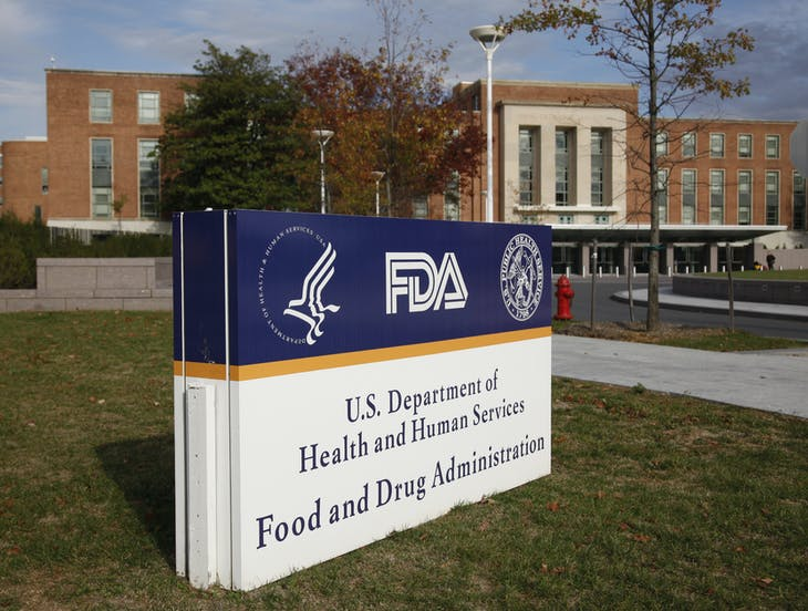 The headquarters of the U.S. Food and Drug Administration (FDA) is shown in Silver Spring, Maryland, November 4, 2009. U.S. health officials unveiled plans to fight avoidable injuries from medication errors or misuse, a problem that harms hundreds of thousands of people each year and can be deadly.   REUTERS/Jason Reed   (UNITED STATES HEALTH) - RTXQCTU
