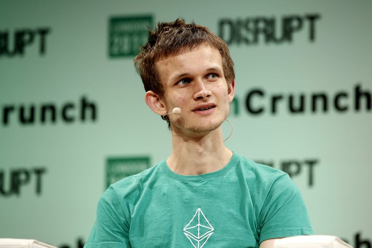 ▲以太坊創辦人Vitalik Buterin。Photo Credit: TechCrunch