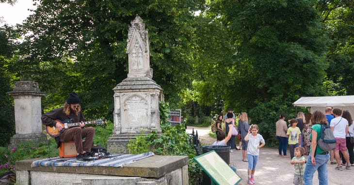 ▲Tower Hamlets Cemetery Park。Photo Credit: Shutterstock/達志影像