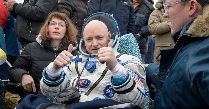 ▲太空人 Scott Kelly。 Photo credit: REUTERS/達志影像