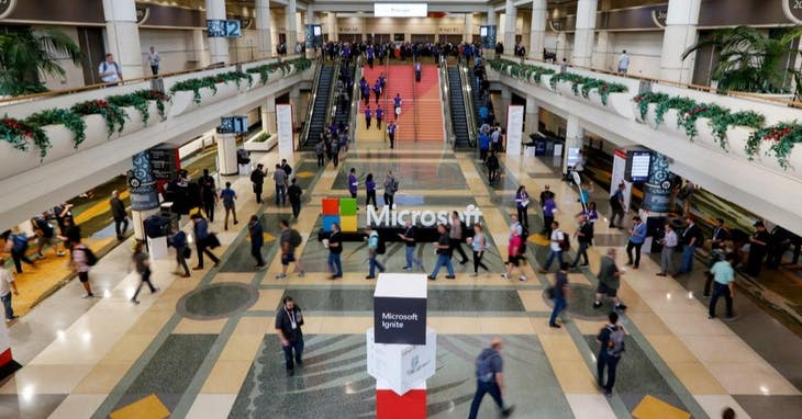 "Photo Credit:<a href=""https://news.microsoft.com/ignite2019/"" target=""_blank"">Microsoft Ignite The Tour</a>"